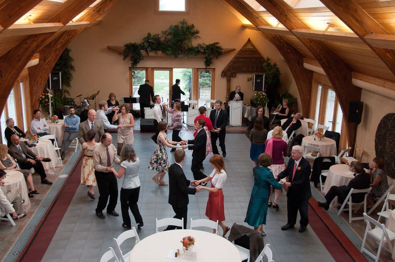 Swing Dance Lesson at the Reception