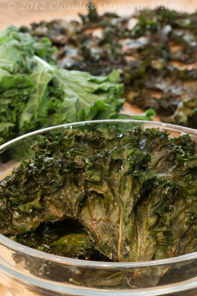 Fresh Kale and Kale Chips