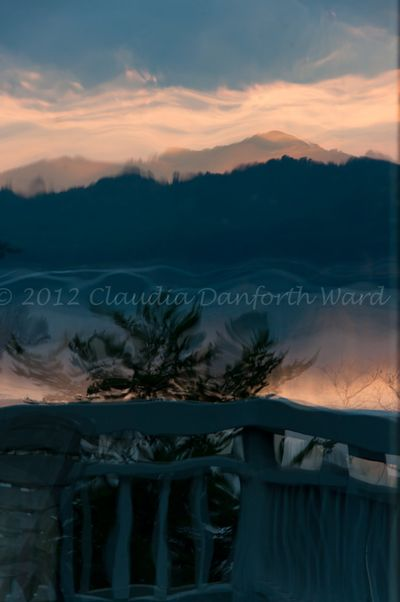 Sunrise Reflected © 2012 Claudia Danforth Ward