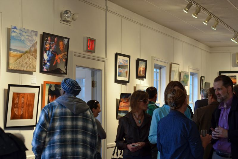 HPS's Thank You Art Show at Ashawagh Hall East Hampton NY