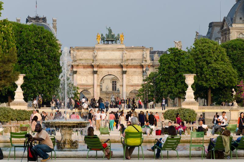 The Tuileries - Paris © 2013 Claudia Ward