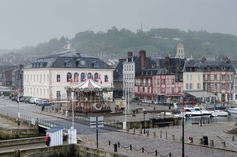 Rainy Morning in Honfleur