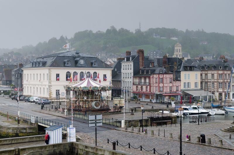 Rainy Morning in Honfleur