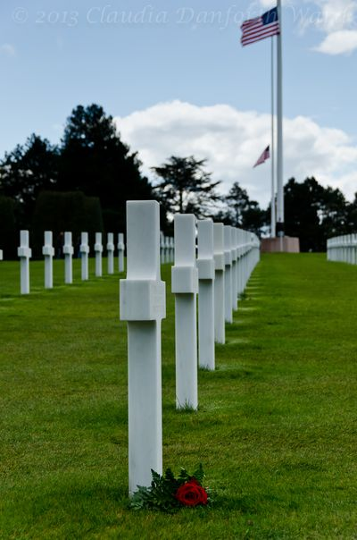 A Soldier Remembered at the American Cemetery in Normandy