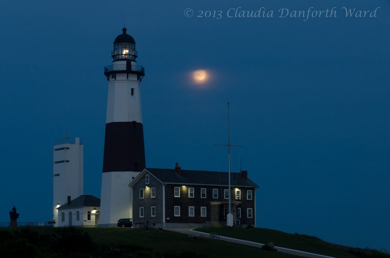 Full Moon in Montauk © 2013 Claudia Ward