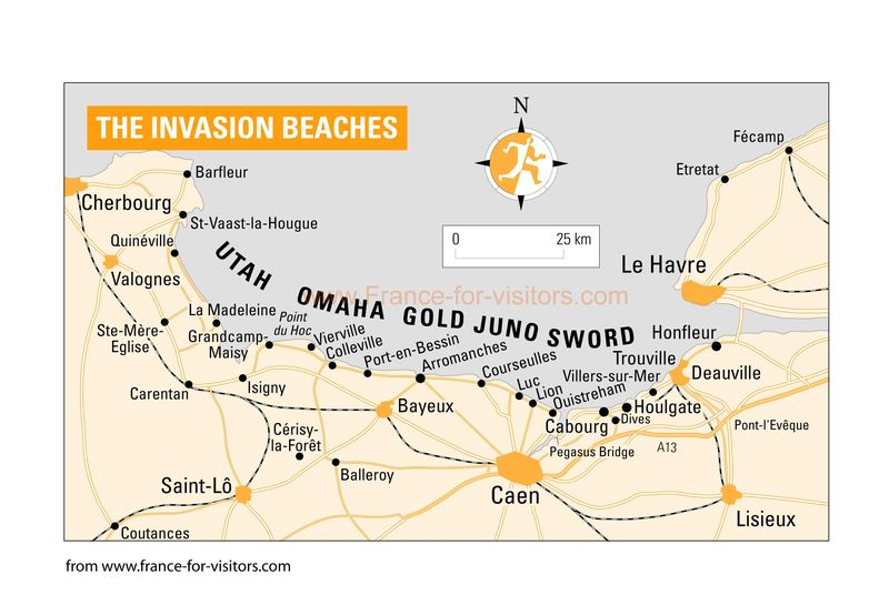 Invasion-beaches-france-map