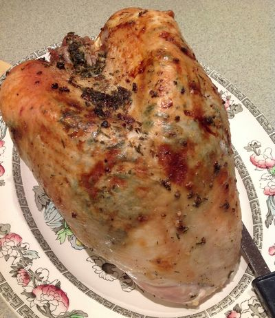 Herb-Roasted Turkey Breast - Open Window