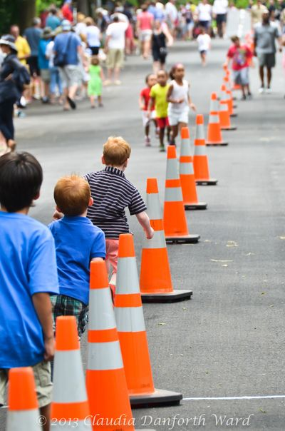 High Street During the Soap Box Derby in Sag Harbor