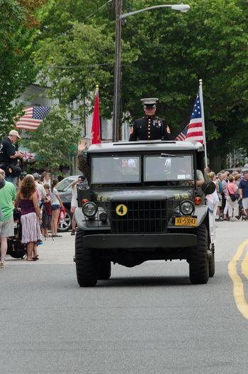 Parade in Sag Harbor 2013