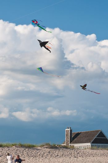 Dan's Papers Kite Fly at Sagg Main August 2013