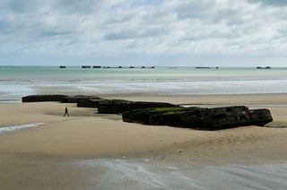 An Example of Scale on the Normandy Beaches