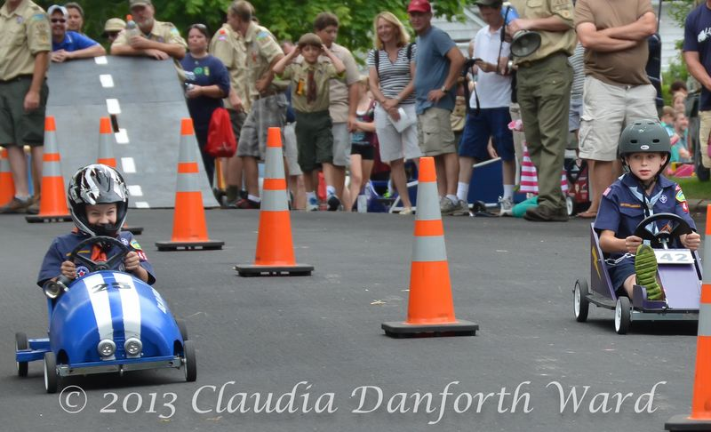 Sag Harbor Soap Box Derby Race 2013