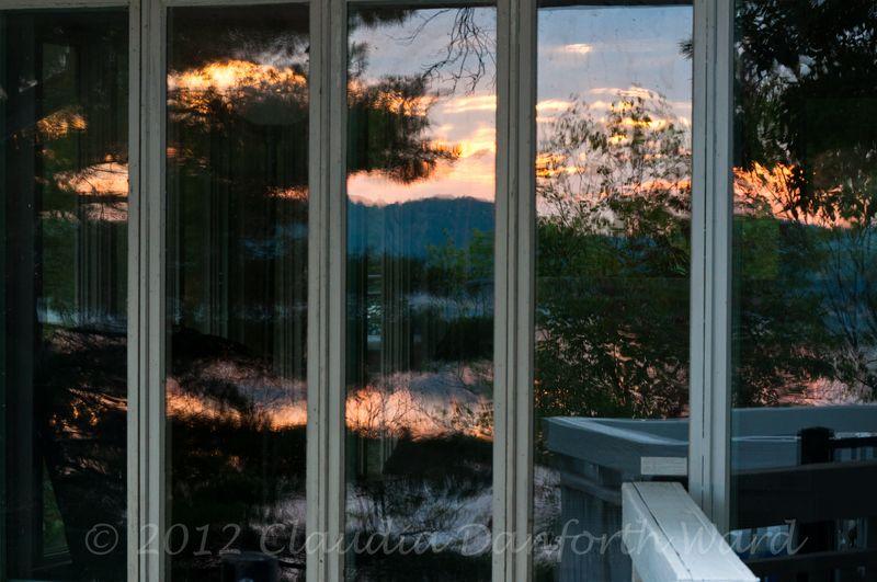 Reflections of Lake Monroe