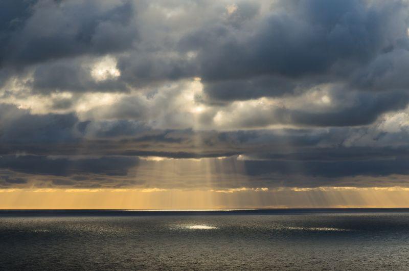 Sunset from The Cabot Trail, Cape Breton, Nova Scotia © 2013 Claudia Ward