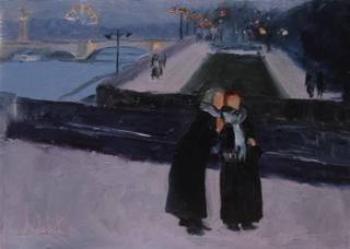 """""""Sisters in Paris"""" by Barbara Andolsek"""