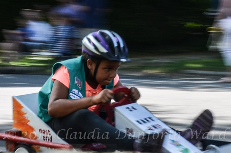 Determination in the Soap Box Derby