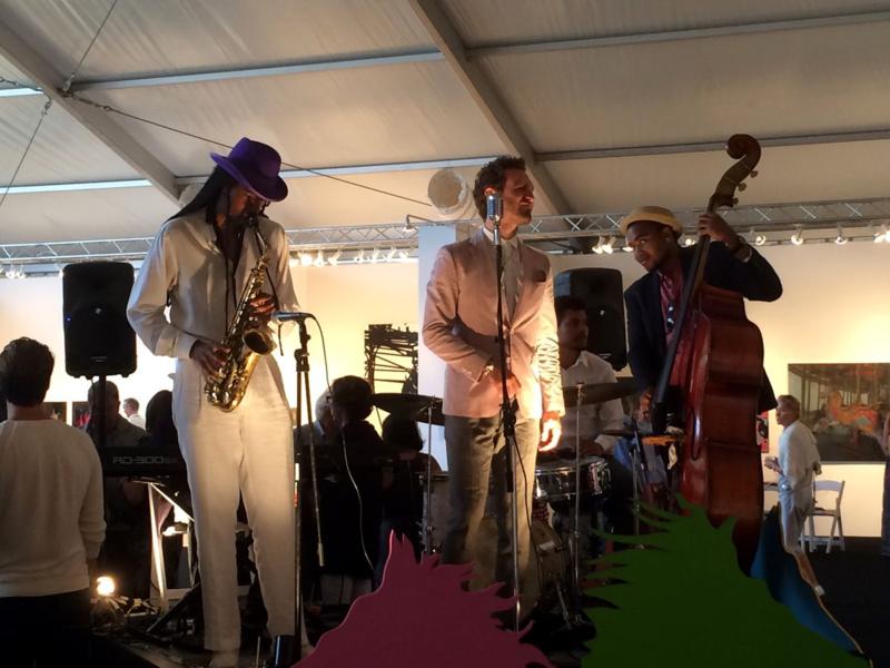 Jazz at the VIP Reception for Art Market Hamptons 2014