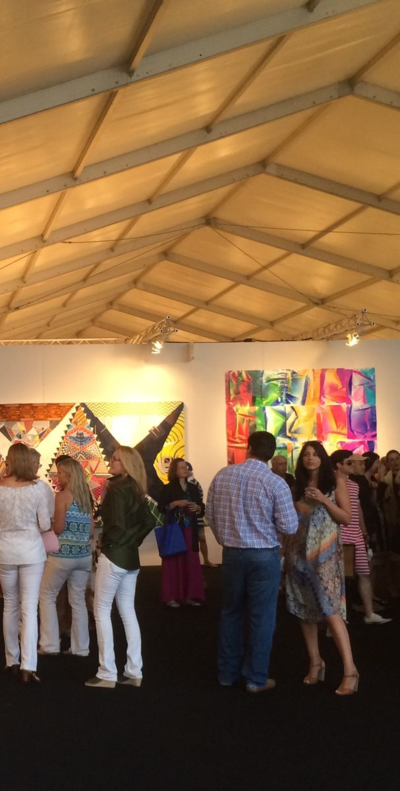 Being Seen at Art Market Hamptons 2014