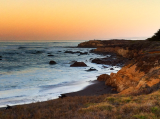 Dawn in Cambria © 2013 Claudia Ward