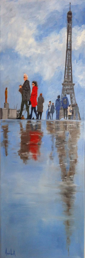 Paris Reflections by Barbara Andolsek