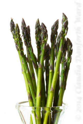 Fresh Asparagus © 2014 Claudia Ward