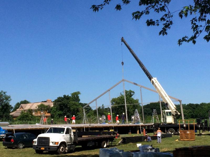 Starr Tents Building the Art Market Hamptons 2014 Gallery