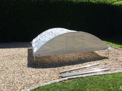 Trimline Canopy Assembled