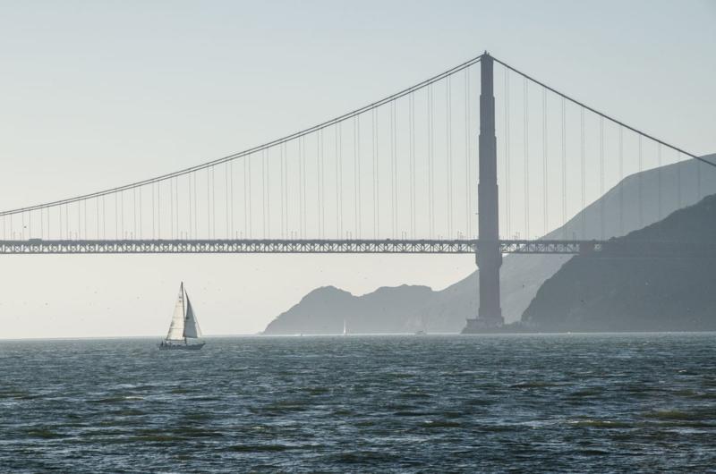 Golden_Gate_Soft Silhouette © 2014 Claudia Ward