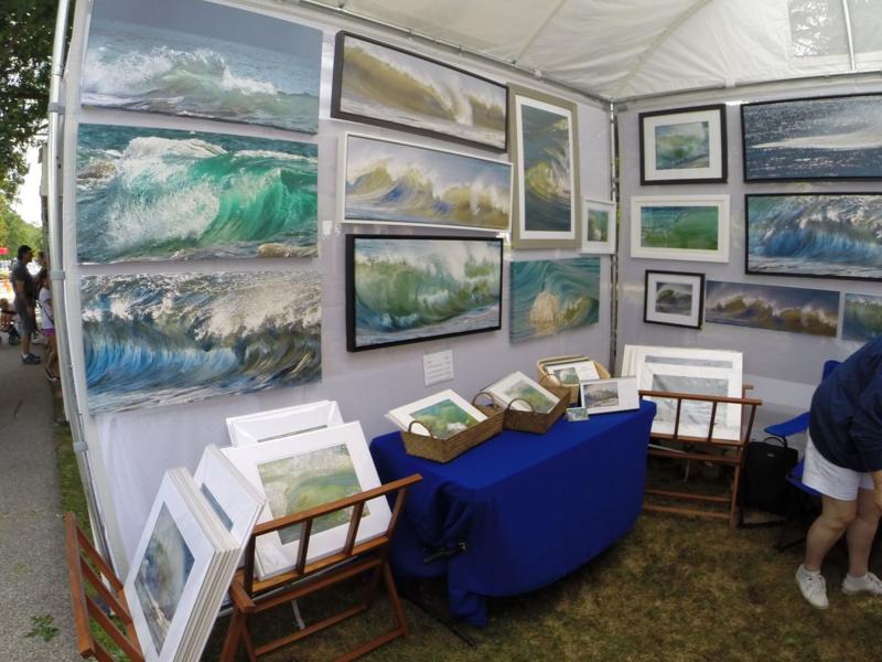 Shelter Island Art Show August 2014