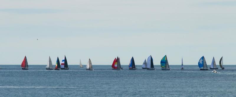 Newport Bermuda Race Start 2014 © Claudia Ward