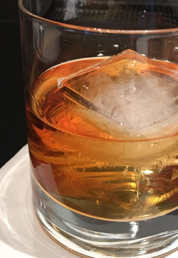 Small-batch Bourbon on Ice