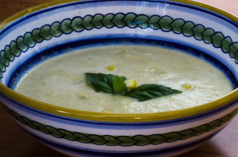 Corn Soup © Claudia Ward