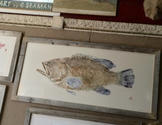 Gyotaku, Fish Art by Chuck Seaman