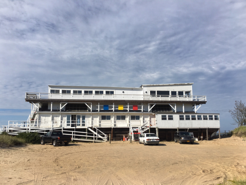 The Art Barge, Amagansett, NY © Claudia Ward