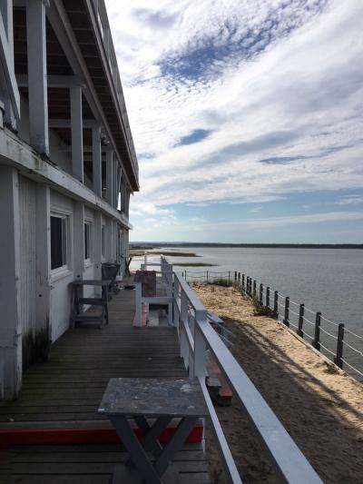The Art Barge on Napeague Bay, Amagansett, NY © Claudia Ward