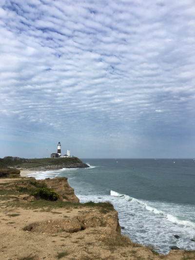 Montauk Point from Camp Hero © 2016 Claudia Ward