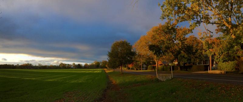 Autumn in Bridgehampton © Claudia Ward
