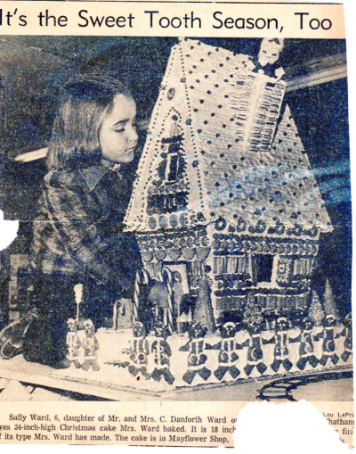 Holly Ward's Christmas Cake  with Sally Ward