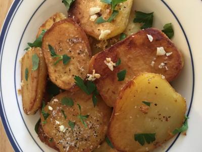 Pommes de terre Sarladaises © 2018 Claudia Ward