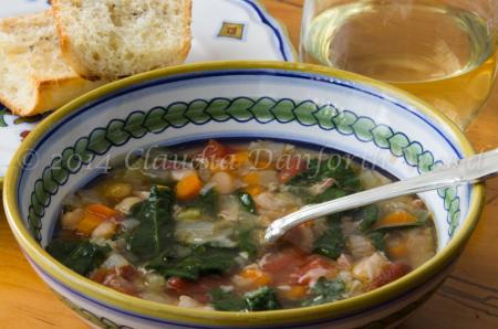 Tuscan_Bean_Soup ©2014 Claudia Ward
