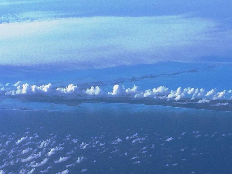 Arial Over Florida Keys