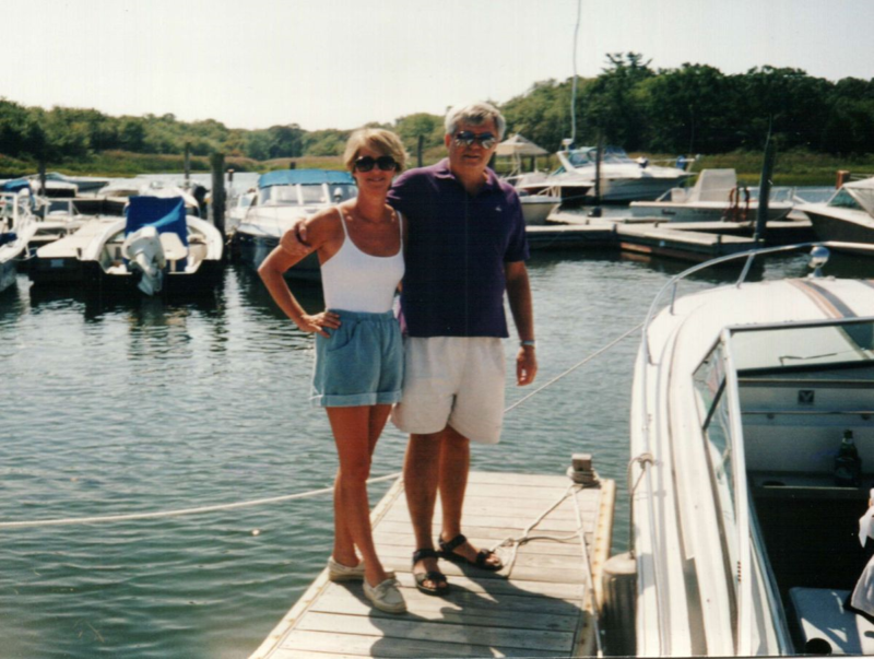 Peter & Claudia circa 1997