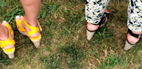 Foot Fashion in Sayre Park Bridgehampton for Taste of Two Forks
