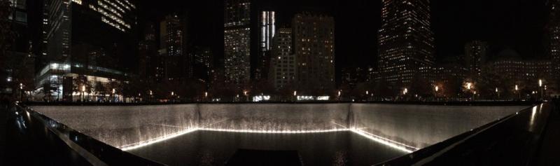 Reflecting Pools at the National September 11 Memorial