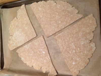 Spelt Dough for Pear Galettes