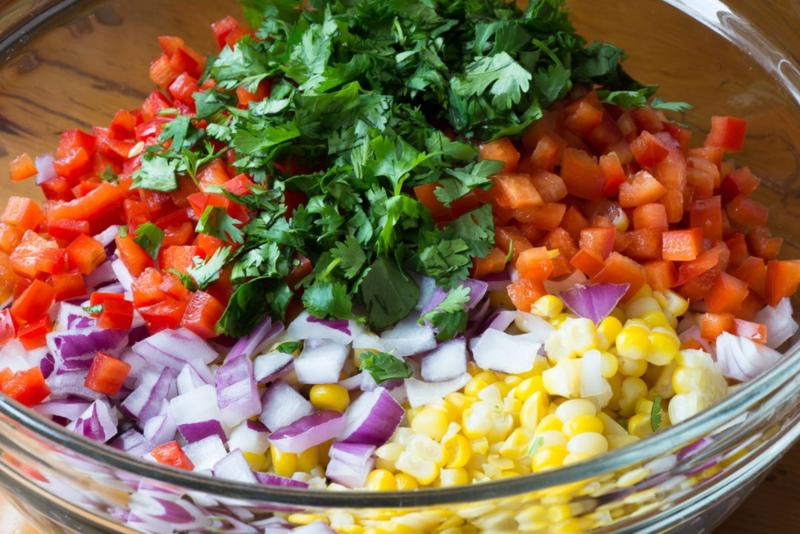 Bean_&_Corn_Salad_Ingredients ©Claudia Ward