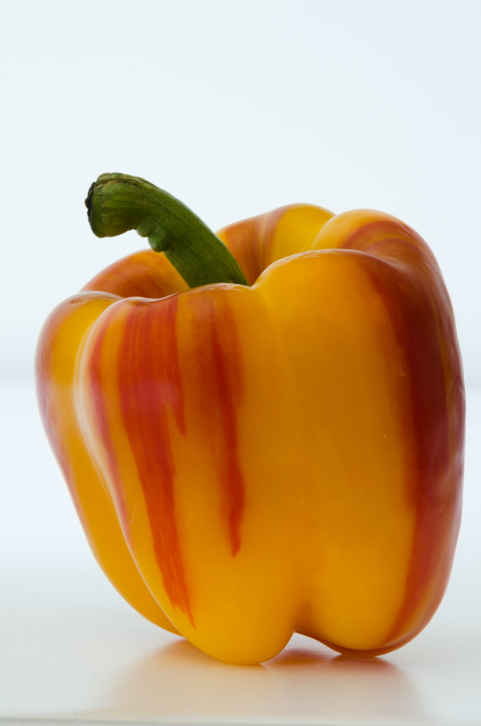 Striped Bell Pepper or ET's Phone Booth? © Claudia Ward