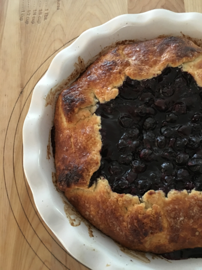 Blueberry Lemon Crostata