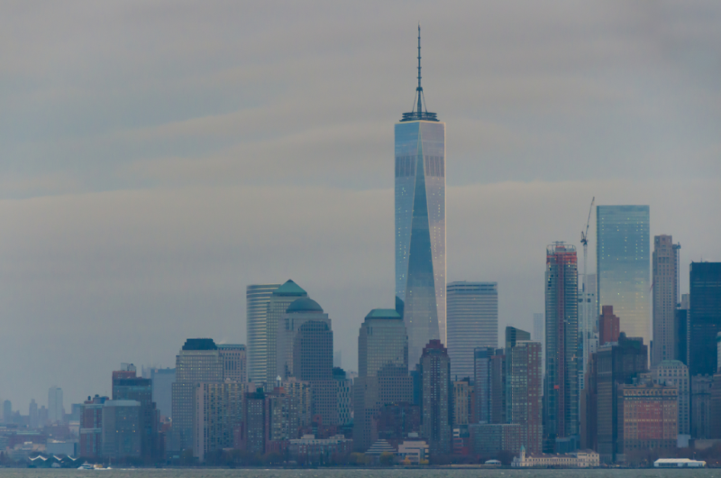 Freedom Tower & New York Skyline  ©2015 Claudia Ward