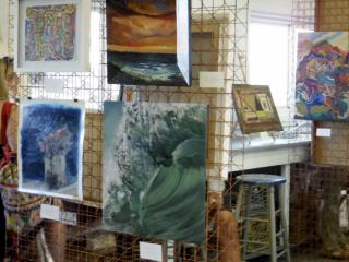 """""""Art Sail"""" at The Art Barge"""